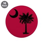 Black and Garnet South Carolina Flag 3.5