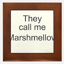 Marshmellow Framed Tile