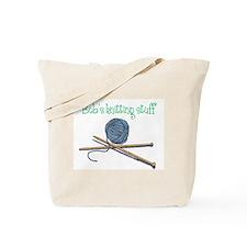Bob's Knitting Tote Bag