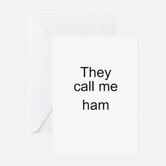Ham Greeting Card