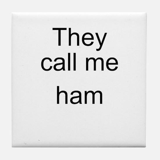 Ham Tile Coaster