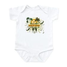 Palm Tree Costa Rica Infant Bodysuit