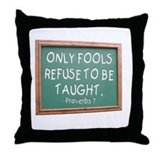 Only Fools Throw Pillow