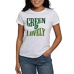 Earth Day : Green & Lovely Women's T-Shirt