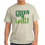Earth Day : Green & Lovely Light T-Shirt