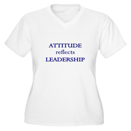 Leadership Attitude Gear Women's Plus Size V-Neck