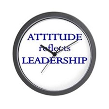 Leadership Attitude Gear Wall Clock