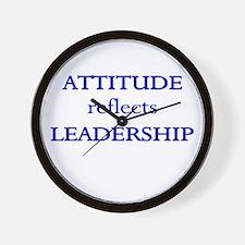 Leadership Attitude Gear Wall Clock