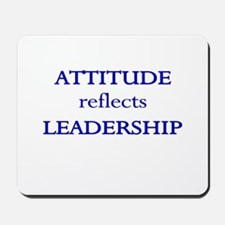 Leadership Attitude Gear Mousepad
