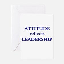 Leadership Attitude Gear Greeting Cards (Pk of 10)