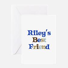 Riley's Best Friend Greeting Card