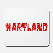 Maryland Faded (Red) Mousepad