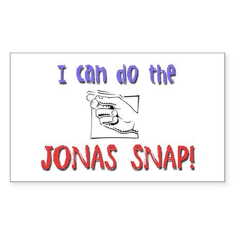 Jonas Snap Rectangle Sticker