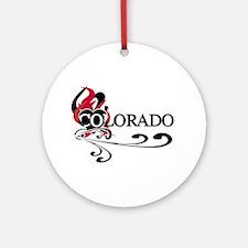 Heart Colorado Ornament (Round)