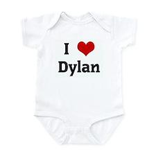 I Love Dylan Infant Bodysuit