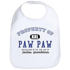Property of Paw Paw Bib