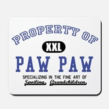 Property of Paw Paw Mousepad