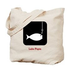 Fishing Sign Tote Bag