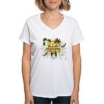 Palm Tree Thailand Women's V-Neck T-Shirt
