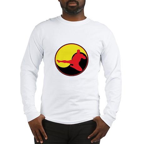 Yin Yang Kicker Long Sleeve T-Shirt