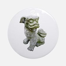 Chinese Lion Ornament (Round)