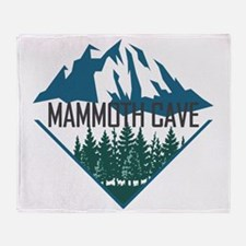 Cute Wind cave national park Throw Blanket