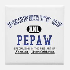 Property of Pepaw Tile Coaster