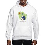 Solar Powered Hooded Sweatshirt