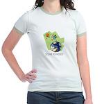 Solar Powered Jr. Ringer T-Shirt