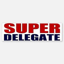 Super Delegate Bumper Bumper Bumper Sticker
