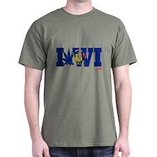 I Love Wisconsin's Grass T-Shirt