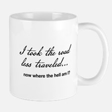 A Road Diverged Mug