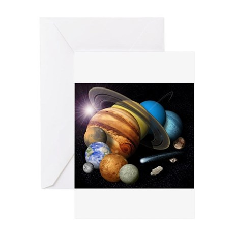 Space 8 Greeting Card