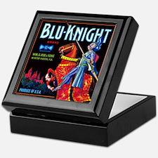 Blue Knight Keepsake Box