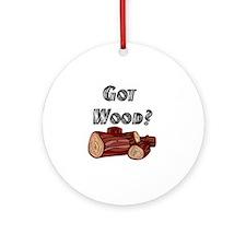 Got Wood? Keepsake (Round)