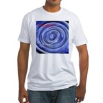 Abyss or a Doorway? Fitted T-Shirt