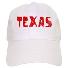 Texas Faded (Red) Baseball Cap