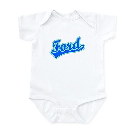 Retro Ford (Blue) Infant Bodysuit