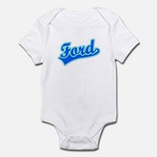 Retro Ford (Blue) Infant Bodysuit