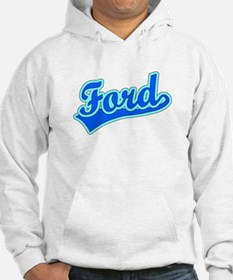 Retro Ford (Blue) Jumper Hoody