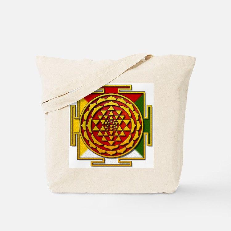 Sri Yantra Mandala Tote Bag