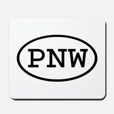 PNW Oval Mousepad