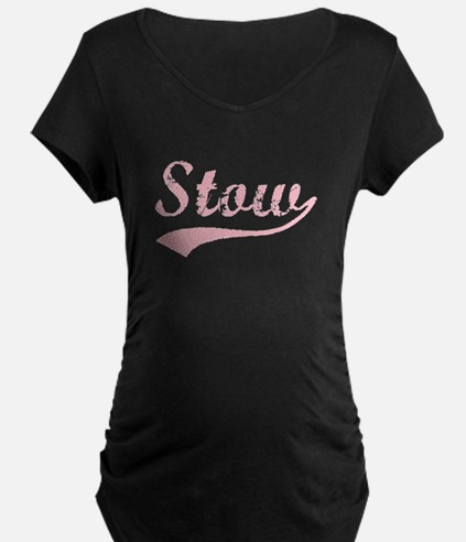 Vintage Stow (Pink) T-Shirt