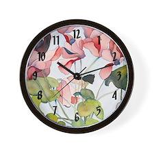 Cyclamen Clock