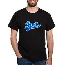 Retro Fox (Blue) T-Shirt