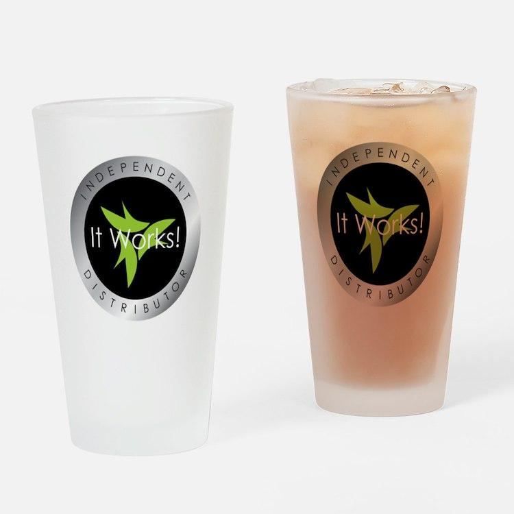 It Works Indepenent Distributor Logo Drinking Glas