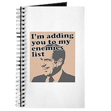 My enemies list Journal
