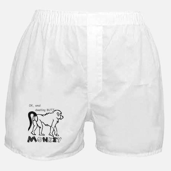 Cute Monkey butt Boxer Shorts