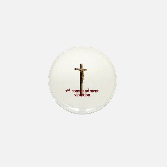 Funny Jews for jesus Mini Button