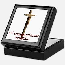 Cool Jesus was a liberal jew Keepsake Box